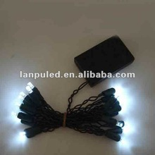 christmas new year party battery powered waterproof mini black light led string