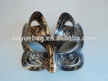 2014 Wholesale custom printed vintage masquerade half face mask