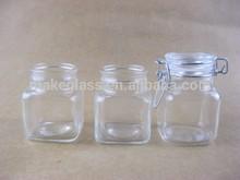 mini glass jars,airtight glass spice bottle,glass jar with lid,glassware