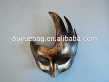 2014 Wholesale custom Popular vintage masquerade half face mask