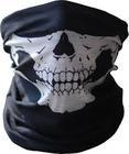 Skull Face Tube Mask Neck Gaiter Dust Shield Seamless Bandana Balaclava