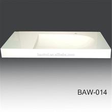 White Matt and Glossy Resin Basin Bathroom Basin / Sink
