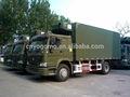 sinotruck caminhão refrigerado e carroceria do caminhão