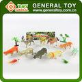 Los animales de granja imágenes, zoo animales juguetes para los niños, de plástico de goma de los animales de granja juguetes