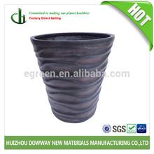 Vietnam Handicraft Fiberglass Vase, High-Quality Rustic Flower Pots & Planters, Cylindrical Vase With Poly Cobble Stone