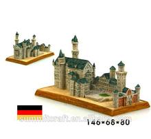 Mexico souvenirs resin Mexico and Pyramid building model