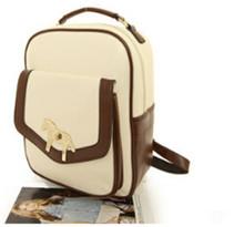 vintage canvas backpack new design high school bags girl's paillette backpack