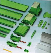 PCB railing square base cover