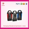 Double wine bag leather wine bottle carrier