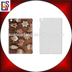 2014 good quality 3D sublimation blank phone case for Ipad mini 2,3D sublimation blank phone case for Ipad mini 2