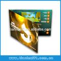 lcd de video de la tarjeta de felicitación personalizada de vídeo de vídeo folleto tarjeta de invitación de negocios herramienta de promoci&oacut