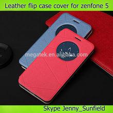 mobile phone accessories super slim smart flip Leather phone case for asus zenfone 5, for asus zenfone 5 case flip