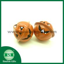 2014 Halloween toy pumpkin jingle bell keychain