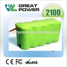 high power 2200mah 12v power tool nimh battery pack