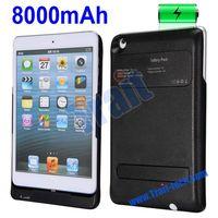 New Arrived High Capacity iPega PG-IPM019 8000mAh Power Bank Case For iPad Mini