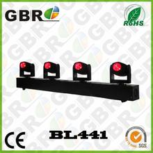 RGBW 4 in 1 4*10w mini beam light moving 4 head beam LED lighting