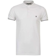 brand 200 gsm cotton plain white pk polo t-shirt