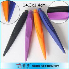 Smooth writing rubber tube ball pen