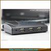 (Protable 1000M/100M/10M new products 4 port usb networking usb2.0 print server SE-SK-304U