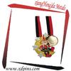 promotional custom souvenir medallion metal art