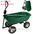 ferramenta de jardim carro tc2145 com quatro rodas e bandeja de plástico