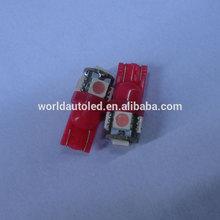Best selling,brightest T10,5SMD5050,pink color,110lumen,12V,24V,6V DC,car led tuning light