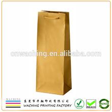 Drawstring Sealing & Handle and Paper Material paper wine bag