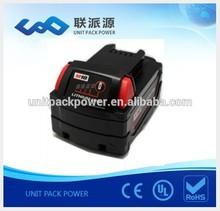 New 18v 4.0Ah li-ion Miwauke drill tool battery