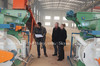 Factory low price pellet truck /biomass fuel making machine