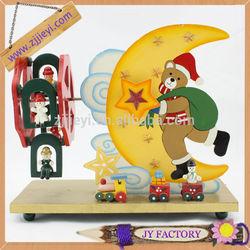 Santa Claus children toys sound box, Christmas music box,