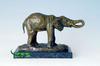 Bronze factory made elephant sculpture