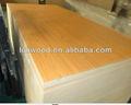 Mdf o tablero de partículas núcleo junta de melamina colores( color sólido o de madera del grano, más de 300 colores disponibles)