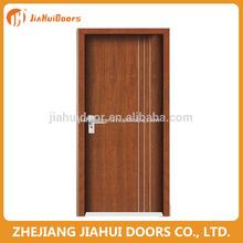 Cheap exterior carving wood door in Zhejiang