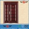JK-S9205 indian main door designs steel grill front door/stainless steel door