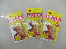 For plastic/ wood /metal , Aluminum Packed , 12pcs/card Super Glue