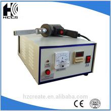 Alta spped importado de soldadura por ultrasonidos máquina los productos de soldadura de geomembrana