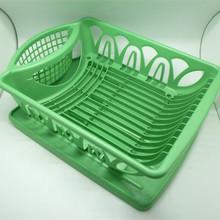cocina de plástico bowl rack de la placa y la taza estante de exhibición
