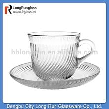 LongRun old fashioned coffee cup saucer wholesale tea cups set