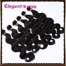remy human hair bodywave remy brazilian hair weave, Virgin Brazilian Hair queen weave beauty