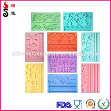 Silicone cake moulds,3D fondant molds,most popular cake decoration