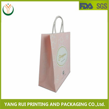 New Product !!! Eco friendly Gift Paper Bag/ handle bag/shopping paper bag wholesale alibaba