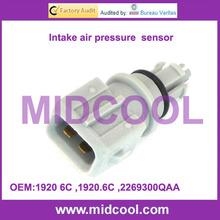 High Quality lntake air pressure sensor For CITROEN ,NISSAN ,PEUGEOT ,RENAULT 1920 6C ,1920.6C ,2269300QAA