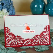 Antique Imitation Style lace wedding cards / invitations