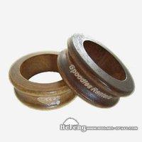 Laser Carved Wooden Ring