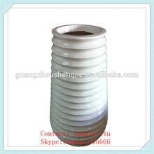 LF083005 Tall Decorative indoor flower pots planters/white ceramic flower pots