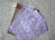 Cheap popular organza storage dustproof bag for fan