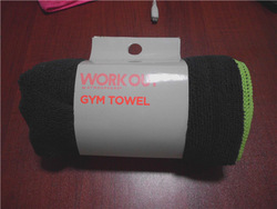 Factory direct sell microfiber sports/gym towel