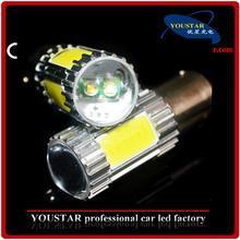 White, red, yellow, blue high power 22w cree cob AC 12V 24V 1157 cob led car lamp