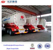 Hot sale high quality 50 CBM cement bulk carrier trailer cargo trailer
