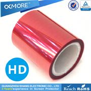 Wholesale cell phone accessory high quality waterproof 3H roll material of clear screen protector